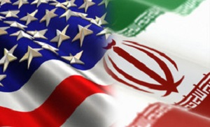 Iran-USA-Flag